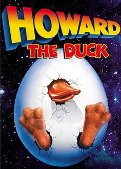 Howard the Duck (1986) - An extraterrestrial duck comes to Earth, where he falls for a pretty singer. The couple's happiness is threatened when government officials intervene.
