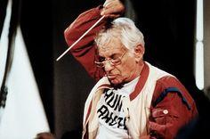 Vor allem die Musik Gustav Mahlers, Mozarts und Brahms' faszinierte Leonard...