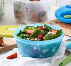 There's no better way to tote your summer salads than in the Salad on the Go Set. What fresh, summer produce do you love to add to salads?