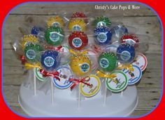 Paw Patrol Cake Pops by Christy's Cake Pops & More Easley, SC