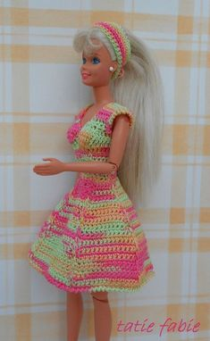 Nouvelle robe de barbie