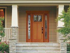 Làm thế nào để có mẫu cửa gỗ biệt thự đẹp và sang trọng?