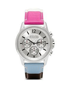 COACH Classic Signature Sport Stainless Steel Watch, 39mm   Bloomingdale's