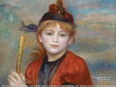 Renoir Paintings | Pierre-Auguste Renoir Wallpaper, Paintings Wallpaper