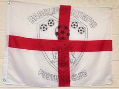Radcliffe Olympic FC official club flag
