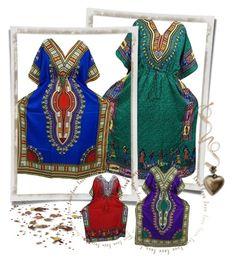 Boho Traditional Dashiki  Kaftan Cover Up by boho-chic-2 on Polyvore
