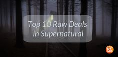 """Who ended up on the wrong end of the demon stick? See the Top 10 Raw Deals in """"Supernatural"""" on KCGeeks.com!"""