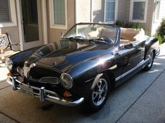 Black Karmann Ghia- so jake doesn't forget he said I could have another :)