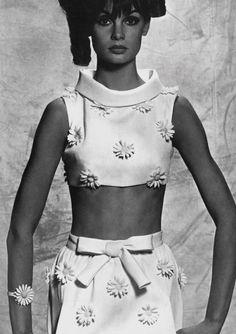 Jean Shrimpton photo David Bailey 1965