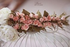 Венок из роз из фоамирана | Своими руками — интернет журнал