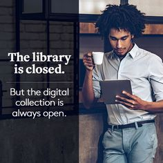 The library branch may be closed after hours or over the holidays but the digital library is always open!