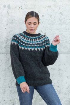 Strikkemekka.no - Inuk Genser av SD Beret, Sd, Pullover, Sweaters, Fashion, Moda, Berets, Fashion Styles, Sweater