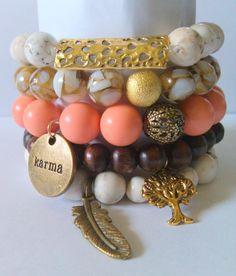 #ArmCandy #bracelet Set #Stacks Collection KikiJabri by KiKiJabriJewels, $35.00