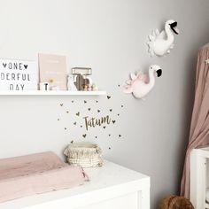 babykamer ♥︎ pinned by – Baby Room 2020 Baby Bedroom, Baby Room Decor, Nursery Room, Girl Nursery, Girl Room, Girls Bedroom, Girls Room Design, Baby Room Design, Nursery Neutral