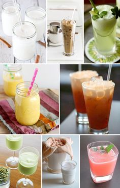 Tasty summer beverages of the non-alcoholic variety