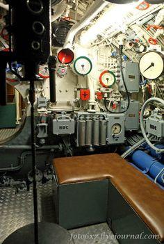 U-Boats ~ U-995 ~ Nerve Center Room ~ BFD