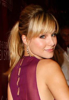 Picture of Kristen Bell Kristen Bell, Kristin Bell Hair, Most Beautiful Hollywood Actress, Beautiful Actresses, Hair Threading, Blonde Actresses, Hair Addiction, 2015 Hairstyles, Hot Blondes