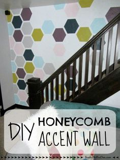 When I moved into my house, I knew I wanted to create an accent wall to be the main focus when you first walked in the door. A different color was too boring, c…