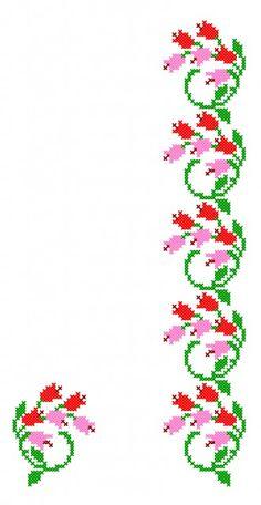 Cross Stitch Boarders, Cross Stitch Bookmarks, Cross Stitch Heart, Simple Cross Stitch, Cross Stitch Flowers, Cross Stitch Patterns, Blackwork Cross Stitch, Cross Stitch Needles, Cross Stitching