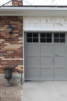 Quick easy diy garage door upgrade home is where the heart is garage door makeover adding trim to windows 4men1lady garage door update diy solutioingenieria Images