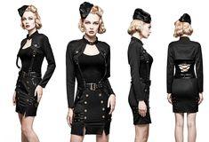 schmaler Uniform-Minirock Falcona
