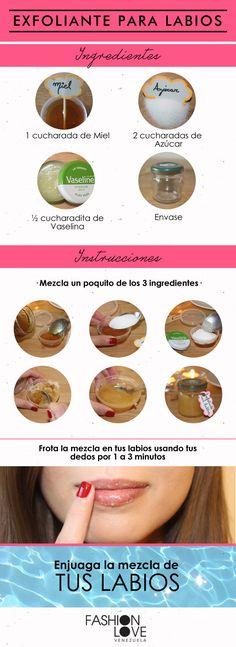 Tutorial: tratamiento para labios resecos