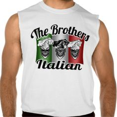 italian chef skulls the brothers italian sleeveless t shirt only at. Black Bedroom Furniture Sets. Home Design Ideas