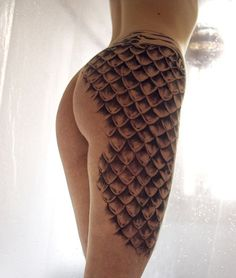 it would be awesome if it looked like the skin was ripping away and the scales were underneath