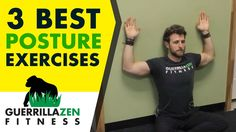 Posture Correction Exercises | Three of the BEST Exercises for Posture!
