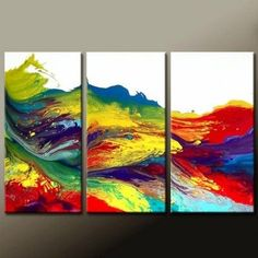 diy artwork. Want to try this in blues