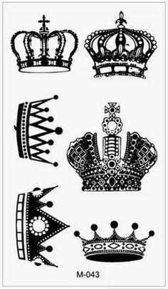 Popular Men Crown Tattoos-Buy Cheap Men Crown Tattoos lots from ...