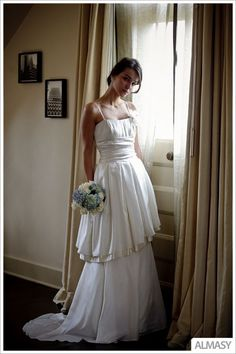 Joanna  Wedding Dress Unique Ecofriendly by NaturalBridals on Etsy, $1699.00