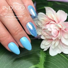 Summer Nails by Indigo Educator Emilia Maria Warszawa Dope Nails, Fun Nails, Spring Nails, Summer Nails, Dream Catcher Nails, Indigo Nails, Magic Nails, Best Salon, Pastel Nails