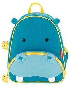 Skip Hop Zoo Little Kids & Toddler Backpack, Hippo $19.99