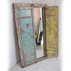 Large Indian Mirror