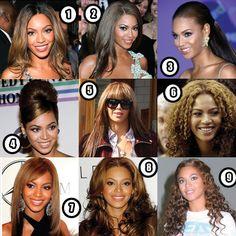 Beyonce Knowles: Her Best Hair?