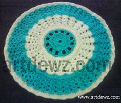 Shell Doily, would look great as a small rug