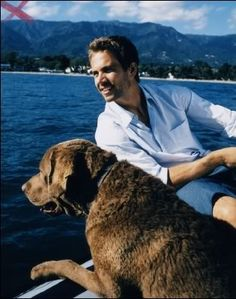 Paul Walker <3 a guy who loves his dog :)