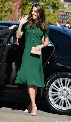Catherine, Duchess of Cambridge visits Kelowna University during the Royal Tour of Canada on September 27, 2016 in Kelowna, Canada.