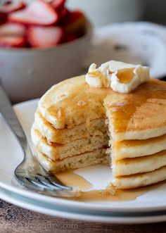 Basic Pancake Recipe Without Baking Powder.Fluffy Meringue Pancakes: Pancake Recipe Without Baking . Fluffy Meringue Pancakes: Pancake Recipe Without Baking . Home and Family Classic Pancake Recipe, Classic Lasagna Recipe, Tasty Pancakes, Homemade Pancakes, Buttermilk Pancakes, Pancakes Recipe Without Baking Powder, Pancake Recipe Ingredients, Recipe Tasty, Pecan Pie Cheesecake