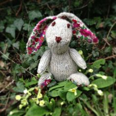 Edmund the Easter Bunny (pattern by Jem Weston for Rowan)