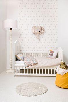 Leuk kinderkamer behang | Interieur inrichting