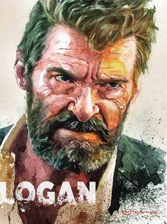 'logan old man logan' Poster by ritawuwu Ms Marvel, Marvel Dc Comics, Marvel Heroes, Marvel Characters, Marvel Box, Logan Wolverine, Deadpool Wolverine, Wolverine Poster, Comic Books Art