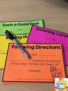 Positive Notes Home | Mrs. Wheeler's First Grade Tidbits | Bloglovin'