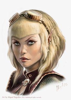 Dinvaya Lanalei portrait by MiguelRegodon.deviantart.com on @DeviantArt