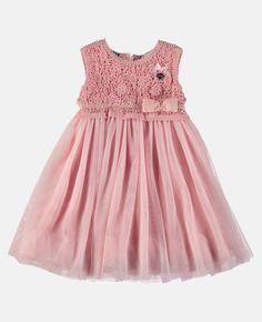 Fancy Tulle Dress - Soft Pink