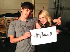 We are so excited that #Haleb is back! #PLL