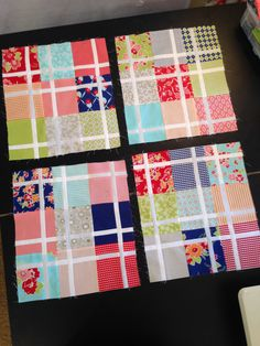 Pretty in Pink Quilt Along pt 2