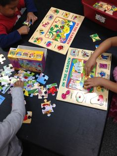 Insect Puzzles | Mrs. Cardenas' Bilingual Prek Classroom