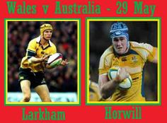 Rugby Tickets, Australia Rugby, Wales, The Past, Baseball Cards, History, Sports, Hs Sports, Historia